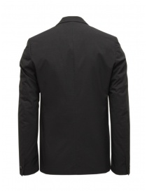 Label Under Construction black cotton blazer