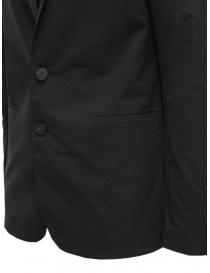 Label Under Construction giacca in cotone nero prezzo