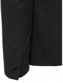 Label Under Construction giacca in cotone nero giacche uomo acquista online