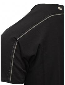 Label Under Construction black cotton t-shirt price