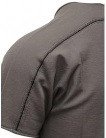 T-shirt Label Under Construction in cotone grigio prezzo