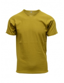 Mens t shirts online: Label Under Construction mustard t-shirt
