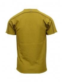 Label Under Construction mustard t-shirt