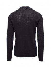Label Under Construction dark blue thermal sweater buy online