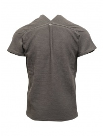 Label Under Construction grey short sleeved knitted T-shirt