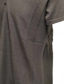 Label Under Construction grey short sleeved knitted T-shirt price
