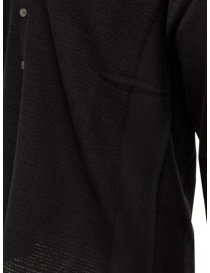 Label Under Construction black cotton cardigan sweater mens cardigans buy online