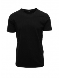 Mens t shirts online: Selected Homme black organic cotton T-shirt