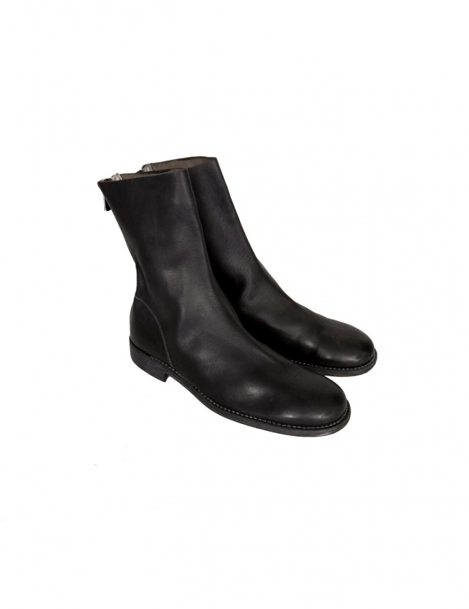 988 Guidi leather boots 988 BLK mens shoes online shopping