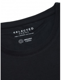 Selected Homme black organic cotton T-shirt price