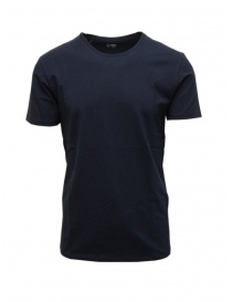 Mens t shirts online: Selected Homme navy organic cotton t-shirt