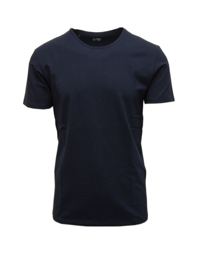 Selected Homme navy organic cotton t-shirt 16073457 NAVY mens t shirts online shopping