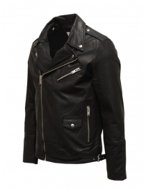 Giacca biker Selected Homme in pelle nera