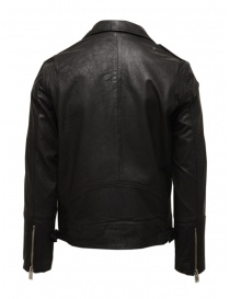 Selected Homme black leather jacket price
