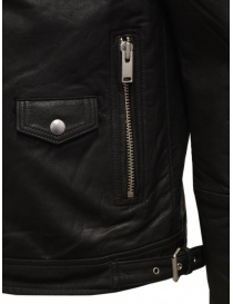 Selected Homme black leather jacket mens jackets price