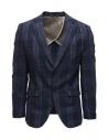 Selected Homme dark blue checkered jacket buy online 16072097 DARK BLUE