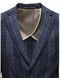 Selected Homme dark blue checkered jacket