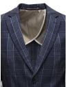 Selected Homme dark blue checkered jacket shop online mens suit jackets