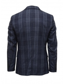 Selected Homme dark blue checkered jacket price