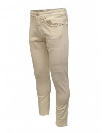 Jeans Selected Homme colore avorio acquista online