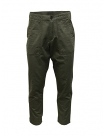 Mens trousers online: Selected Homme khaki trousers