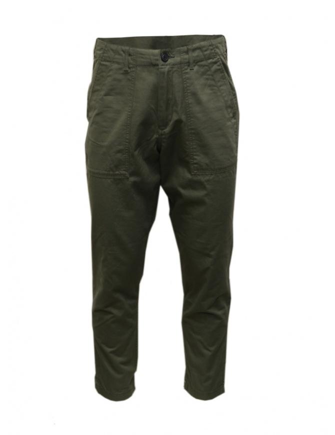 Pantalone Selected Homme khaki 16072074 BEETLE pantaloni uomo online shopping