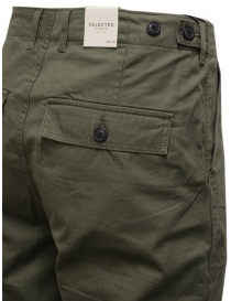 Selected Homme khaki trousers