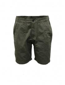 Pantaloni uomo online: Bermuda Selected Homme colore khaki da uomo