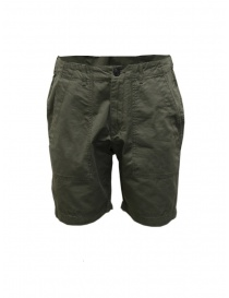 Mens trousers online: Selected Homme khaki short trousers for man