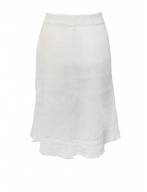 Crêperie white skirt