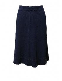 Womens skirts online: Crêperie blue skirt
