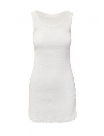 Crêperie white dress with slit online