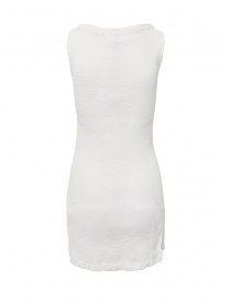 Crêperie white dress with slit