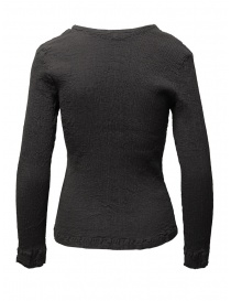 Crêperie women's grey sweater