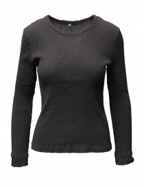 Womens knitwear online: Crêperie women's grey sweater