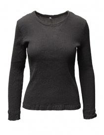 Crêperie women's grey sweater TC05FN503-24 DARK GREY order online