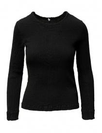 Crêperie women's black sweater TC05FN503-26 BLACK order online