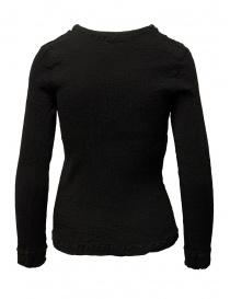 Crêperie women's black sweater