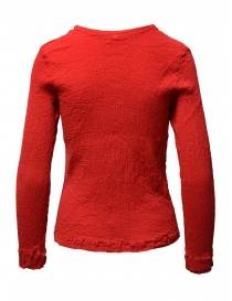 Crêperie red knitwear