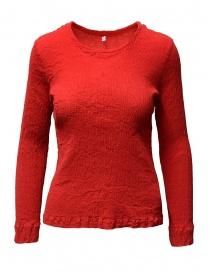 Maglieria donna online: Maglia Crêperie colore rosso