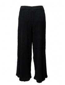 Crêperie black palazzo pants