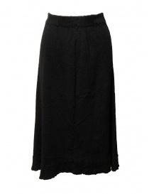 Crêperie black skirt TC05FG512-26 BLACK order online