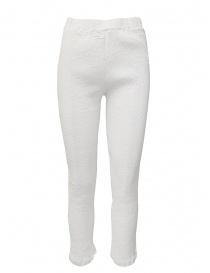 Pantalone Crêperie colore bianco online
