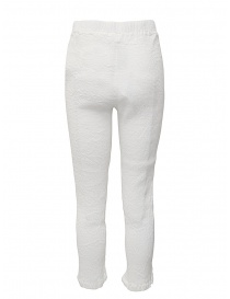 Pantalone Crêperie colore bianco