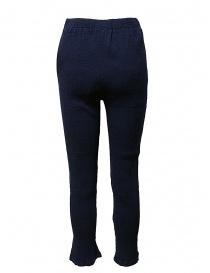 Crêperie navy trousers