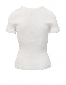 T-shirt Crêperie colore bianco