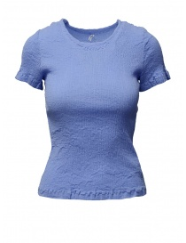 T-shirt Crêperie colore celeste TC05FM502-11 LIGHT BLUE order online