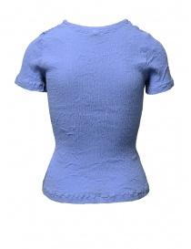 T-shirt Crêperie colore celeste