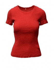 T-shirt Crêperie colore rosso online