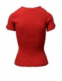 T-shirt Crêperie colore rosso